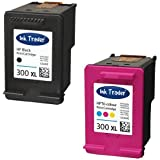 HP 300XL (High Capacity) Remanufactured Black & Tri-Colour Printer Ink Cartridges For use with HP Photosmart C4670 C4680 C4685 C4780 C4783 Printers by Ink Trader