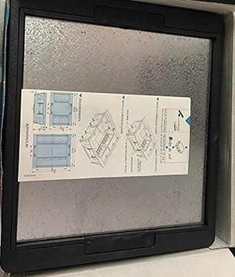 Arnould 28311 LIVING - Caja de enchufes IP 24-7 (4 x 5 módulos), color gris: Amazon.es: Iluminación