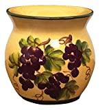 Grape Kitchen Decor Tuscany Grape Kitchen Decor Tart Burner/warmer Hand Painted