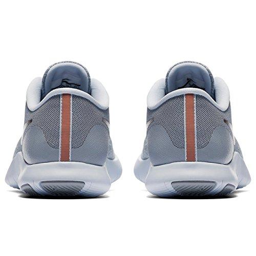 Gold Para Flex Contact Wolf De Wmns Rose Zapatillas Grey metallic Nike Mujer Running Hqw7Yff