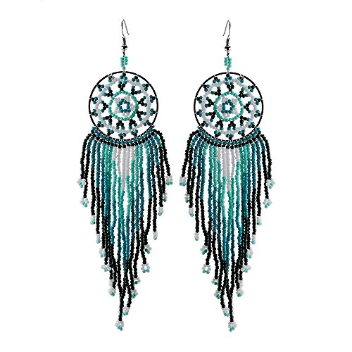BALA ♥Bead Earrings♥ Dangle Long