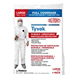 TRIMACO 141222/12 Coverall, Large, White
