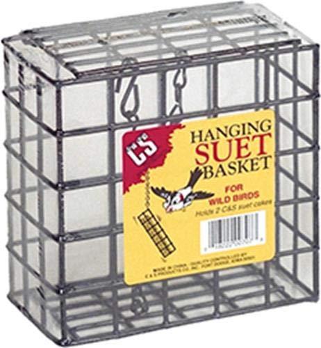 (C&S Double Hanging Suet Basket)