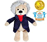 Ludwig is a premium quality classical music plush bear playing 40 minutes of Beethoven's most loved compositions. The music tracks can be switched and the volume easily controlled. A short composer's biography is tucked inside the bear's inner pocket...