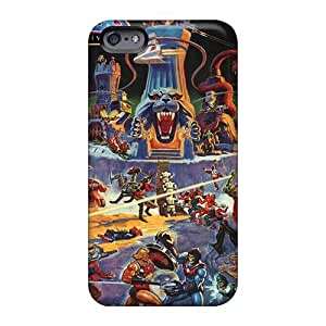 Scratch Resistant Hard Phone Cases For Iphone 6 (Erh11074WcNr) Provide Private Custom Realistic Disney Cartoon 2015 Image
