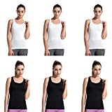 27ca6a95742 Semath Womens Workout Tanks Top Sleeveless Athletic Fancy Stretchy Fitness  Tanks for Women