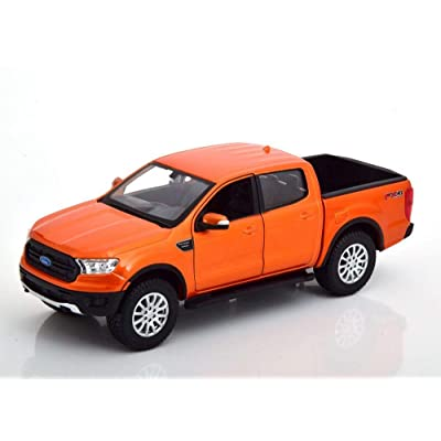 2020 Ford Ranger, Copper Orange - Maisto 31521OR - 1/27 Scale Diecast Model Toy Car: Toys & Games