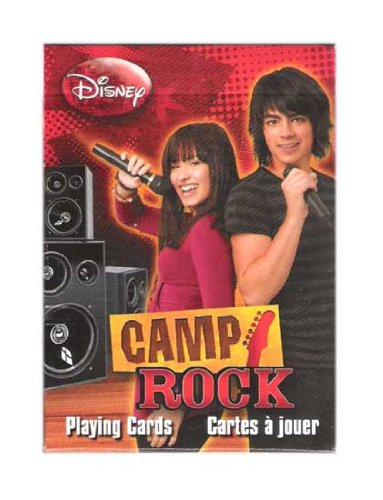 Disney Camp Rock Collectibles Playing Cards by (Games Collectible Card Rock)