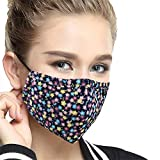 YCOOL Anti Pollution Face Mask N95 Washable Antibacterial Cotton Mouth Mask With Adjustable Ear Strap Blue