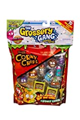 These guys are going off! The Grossery Gang Large pack is waiting to be opened and shared. 10 wacky Grossery Gang characters are visible and 2 are hidden. With 75% more gross than most and guaranteed stale before opening, this bag load of mad...