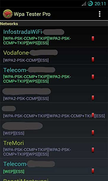 Amazon com: Wifi Wpa Tester pro: Appstore for Android