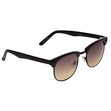 81da734f83 Jeepers Peepers Clubmaster Black One Size  Amazon.co.uk  Clothing