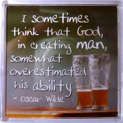 A veces pienso que Dios, al crear al hombre Imán de nevera 185 ...
