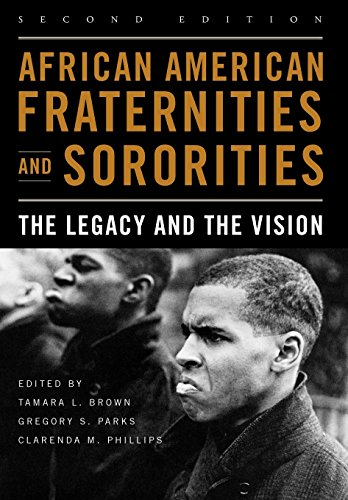 Search : African American Fraternities and Sororities: The Legacy and the Vision