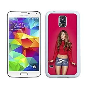 New Fashion Custom Designed Cover Case For Samsung Galaxy S5 I9600 G900a G900v G900p G900t G900w With Ariana Grande White Phone Case