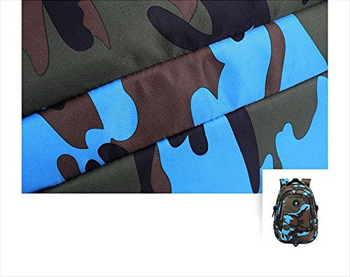 Camouflage Backpack, Large Capacity Water-Resistant Student Children School Bag by MATMO (Image #8)