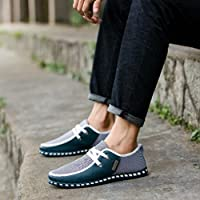 On Sales Men Office Shoes,Hemlock Men Autumn Shoes Comfortable Casual Shoes Business Flat Shoes Formal Party Shoes (US:11, Green)