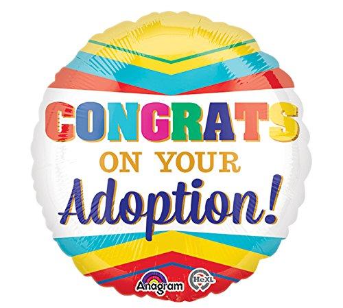 Burton & Burton Congrats on Your Adoption Foil/Mylar -