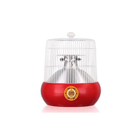 CJC Calentador Eléctrico Tubo Halógeno Calefacción Jaula De Pájaros Modelado Estufa Al Horno (Color : Amarillo) : Amazon.es: Jardín