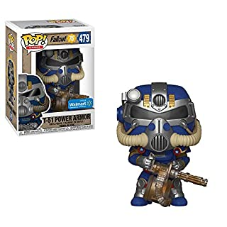 Pop! Funko 479 Fallout 76 - Blue Tricentennial Power Armor (Walmart Exclusive)