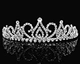 SC Rhinestone Costume Bridal Wedding Prom Tiara 24686