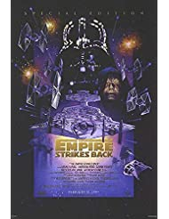 "Star Wars: Episode V - The Empire Strikes Back - Authentic Original 27"" x 40"" Movie Poster"