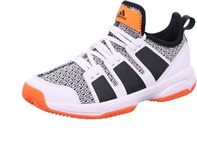 Psicologicamente Algebraico Mal  adidas Stabil Jr, Zapatillas de Balonmano Unisex Niños: Amazon.es: Zapatos  y complementos