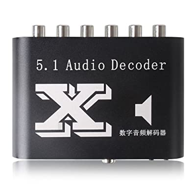 5.1-Channel DTS/AC-3 Home Theater Audio Decoder RCA