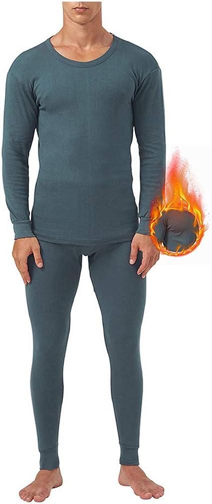 Ropa Interior térmica de algodón para Hombres Ropa de algodón de ...