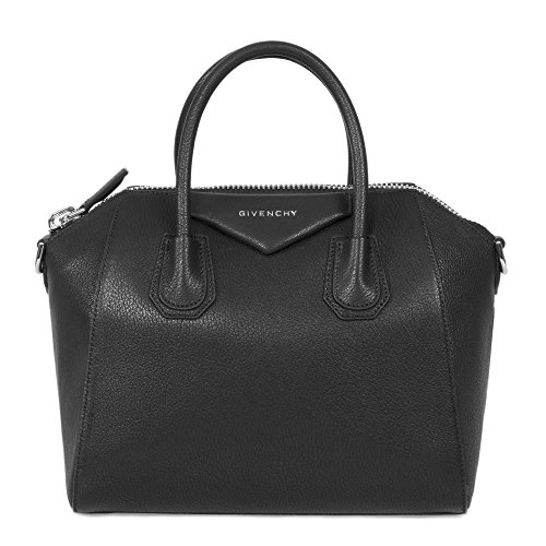 Givenchy Women's Antigona Sugar Goatskin Leather Satchel Bag, Matte - Oversized Givenchy