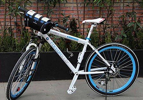 FakeFace Neu Lenkertaschen Gepäckträgertasche Umhängetasche Multifunktions Fahrradtasche Rahmentasche Wetterfeste Tasche für Outdoor Blau eB3FC8