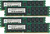 Adamanta 64GB (4x16GB) Server Memory Upgrade for HP Proliant DL360 G7 DDR3 1066Mhz PC3-8500 ECC Registered 4Rx4 CL7 1.5v