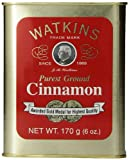 Watkins All Natural Gourmet Spice Tin, Ground Cinnamon, 6 Ounce