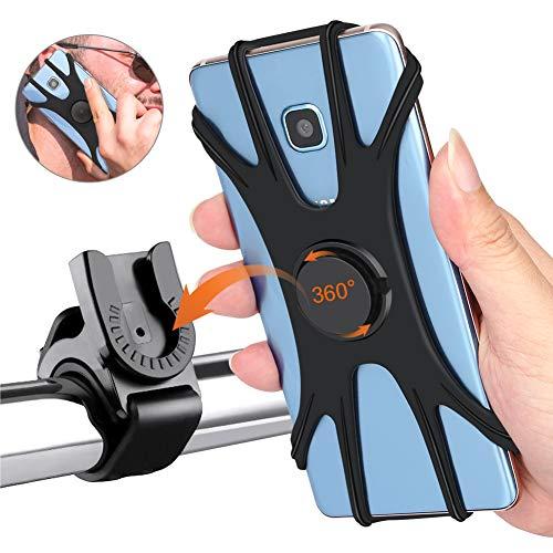 🥇 Soporte para teléfono móvil para bicicleta