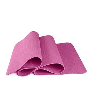 WZL Esterilla de Yoga TPE de una Sola Capa Estera de Yoga ...
