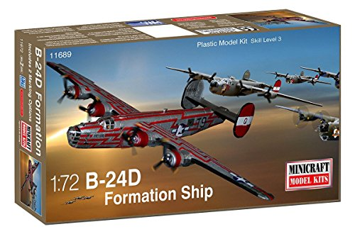 - Minicraft B-24D USAAF Formation Ship Model Kit (1/72 Scale)