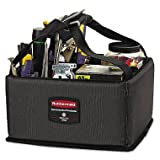 Rubbermaid Commercial Executive Quick Cart Caddy Small Dark Gray