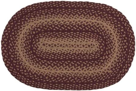 CWI Gifts Vintage Star Oval Rug, 20 x 30