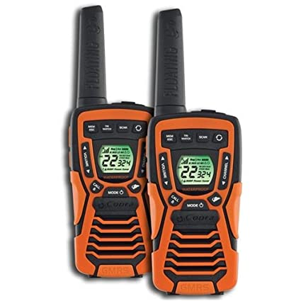 Cobra CXT1095FLT Floating Walkie 2