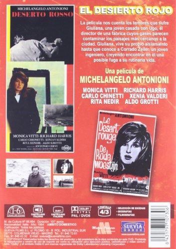 El Desierto Rojo (Il Deserto Rosso) (1964) (Non Us Format) (Region 2) (Import)