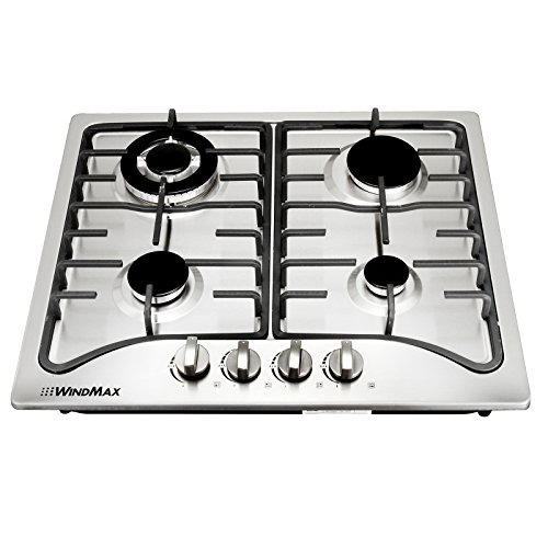 30 4 burner gas stove top - 4