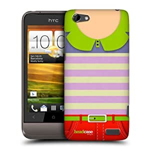 Head Case Designs Stripes What Is Your Style Protective Snap-on Hard Back Case Cover for HTC One V