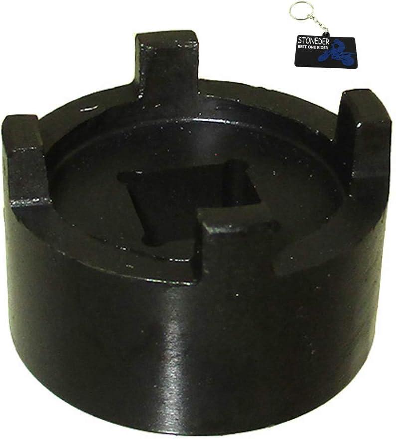 STONEDER Llave de cubo de embrague para Honda 07716-0020100 CRF150F CRF230F CRF230L CRF230M Nighthawk CB250 TRX 450R XL250R XR200 XR200R XR250L XR250R