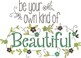 Wall Pops WPQ0809 WPQ0809 Be Your Own Kind of Beautiful Wall Quote Wall Decals