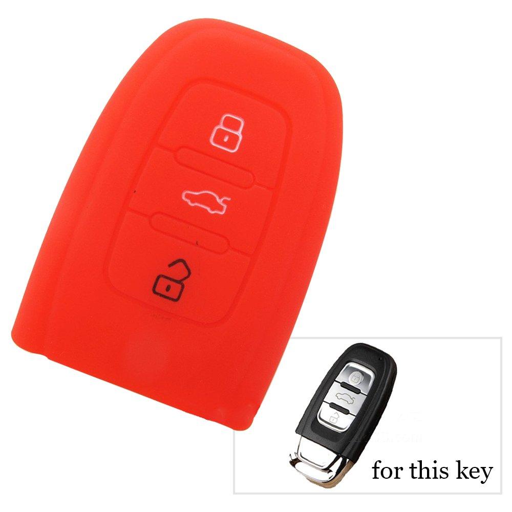 Silicona Key Cover Case Seat Llave Carcasa Llave para la ...