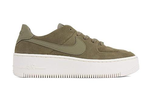 nike air force verde militare
