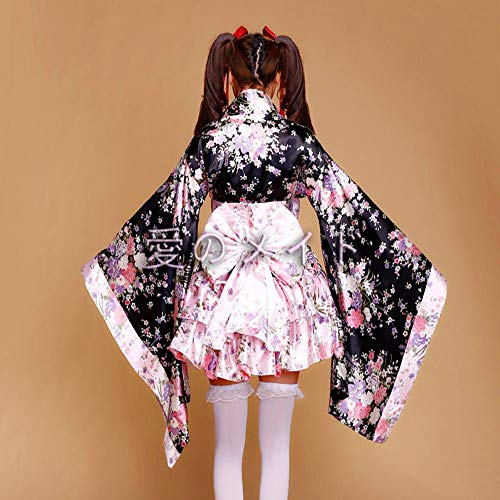 Halloween Bekleidung Damen Einteiliges Damen Kleid GYH Karneval Pink Clothing Show Dienstmädchen Kleider Mädchen Maskerade Gotisch Kostüm HqAxntU5wd