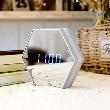 Amazon.com: Charging creative multifunctional mirror LED ...
