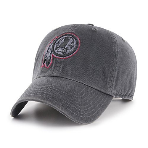 Washington Redskins Nfl - NFL Washington Redskins Male OTS Challenger Adjustable Hat, Dark Charcoal, One Size