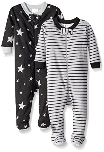 Footed Pajama Set (Gerber Baby Boys 2 Pack Footed Sleeper, Stars/Stripes, 18 Months)